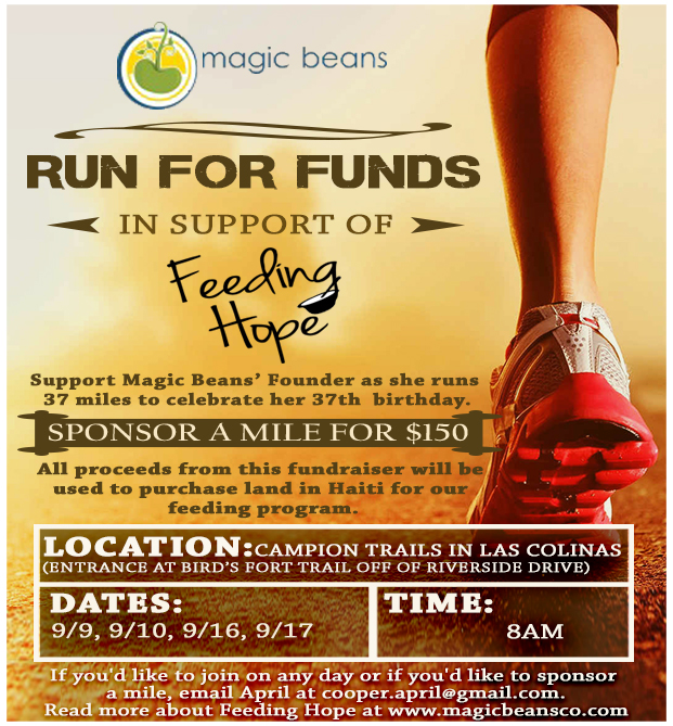 RUN FOR FUNDS FLYER